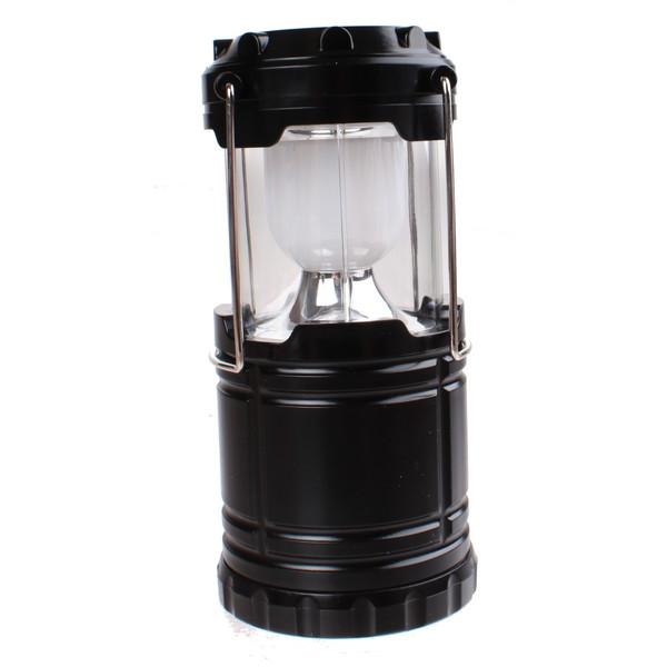 Redcliffs campinglamp 18,5 cm zwart