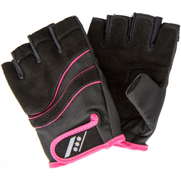 Rucanor fitness handschoenen Lara II dames zw-ro maat 11-12