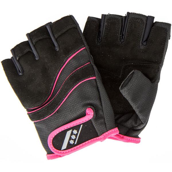 Rucanor fitness handschoenen Lara II dames zw-ro maat 7-8