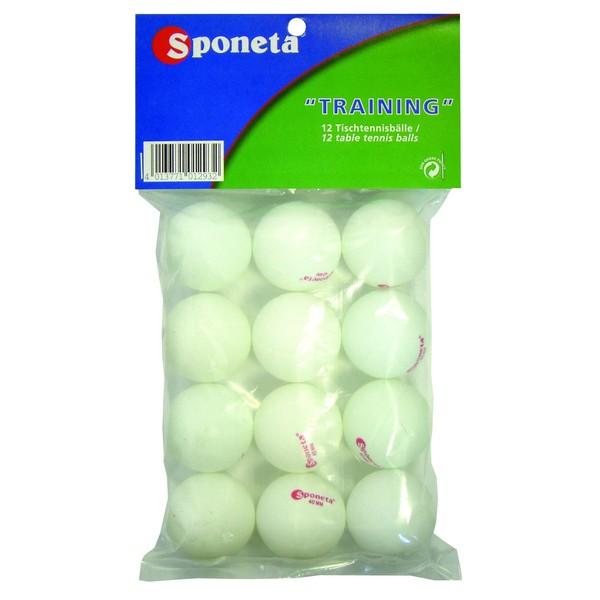 Sponeta tafeltennisballen 12 stuks