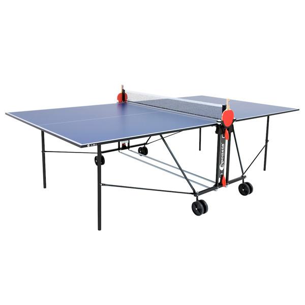 Sponeta tafeltennistafel indoor S1 43 i blauw 274 x 152,5 cm