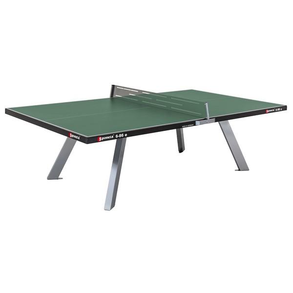 Sponeta tafeltennistafel outdoor S6 86 e groen 274 x 152,5 x 76 cm