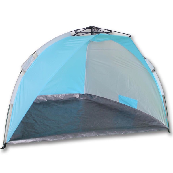 Summertime Beachshelter Automatic strandtent 260 x 110 x 100 cm blauw
