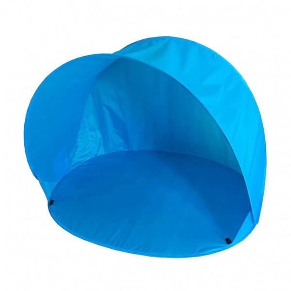 Summertime pop up strandtent 150 x 110 x 100 cm blauw