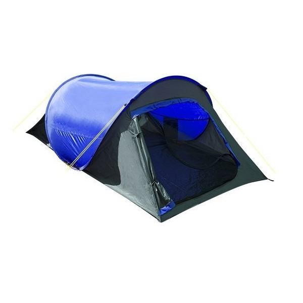 Summit tweepersoons pop up tentblauw 220 x 120 x 80/60 cm