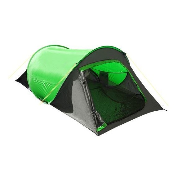 Summit tweepersoons pop up tent groen 220 x 120 x 95 cm