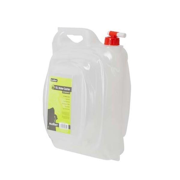 Summit water jerrycan met kraan 15 liter wit