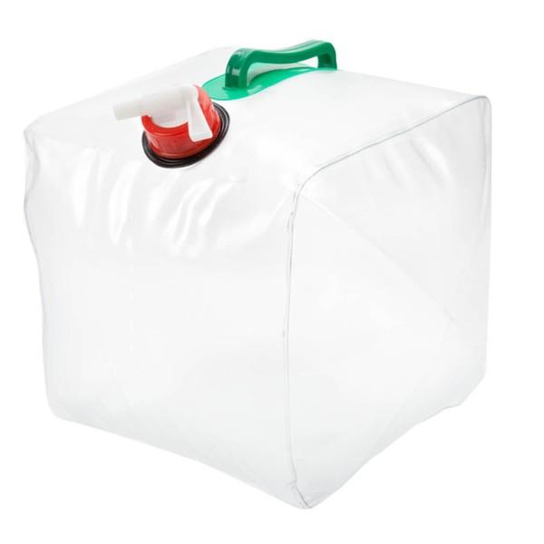 Summit water jerrycan met kraan transparant 10 liter