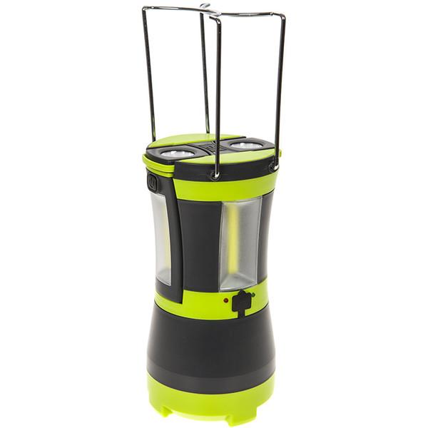 Summit oplaadbare COB campinglamp groen/zwart 20 cm