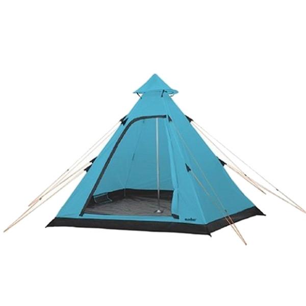 Summit tent Hydrahalt 4 persoons 275 x 300 x 205 cm blauw