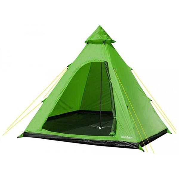 Summit tent Hydrahalt 4 persoons 275 x 300 x 205 cm groen