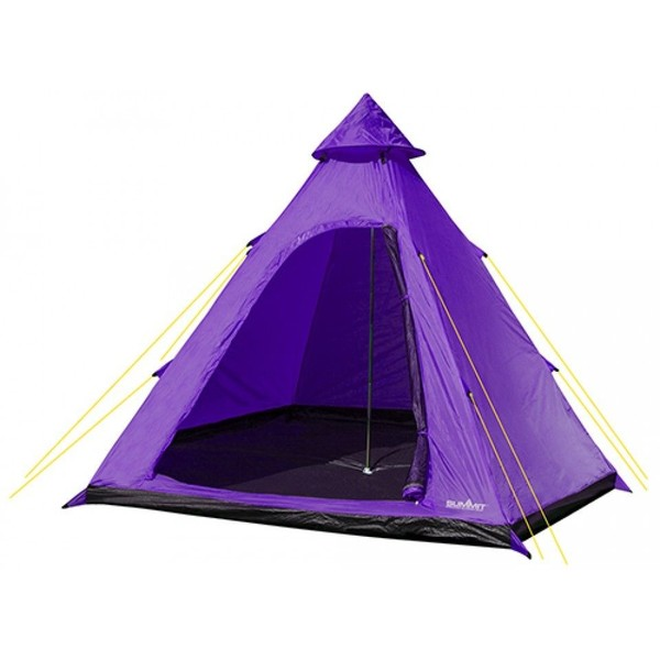 Summit tent Hydrahalt 4 persoons 275 x 300 x 205 cm paars