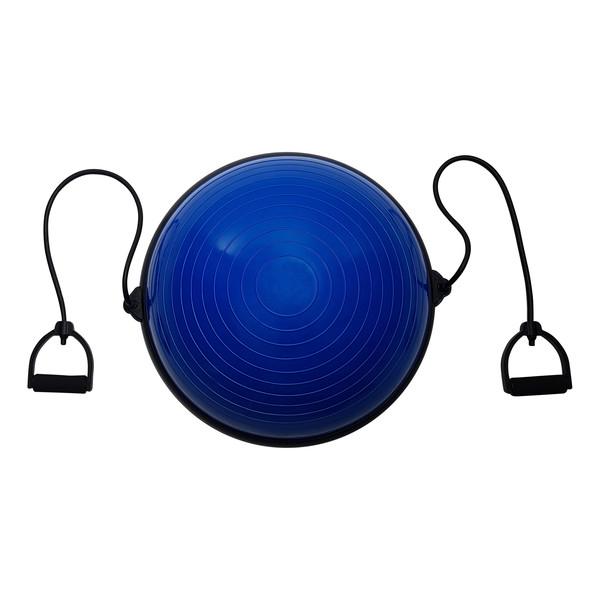 Tunturi balanstrainer met weerstandsbanden 40 cm blauw