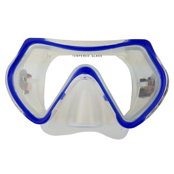 Tunturi duikbril Siliter junior blauw