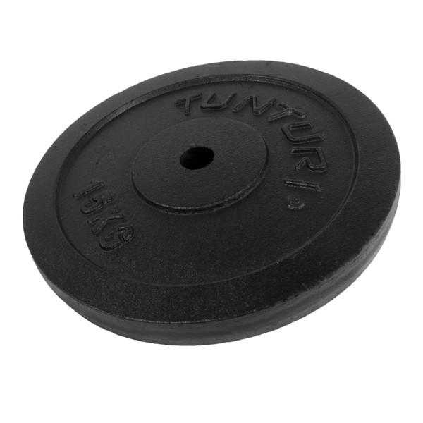 Tunturi Plate 1x 15 kg Black