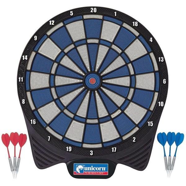 Unicorn softtip dartbord 40,5 cm rood-blauw