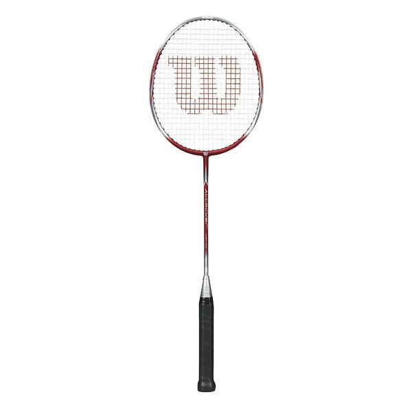Wilson badmintonracket Attacker 66 cm rood-zilver