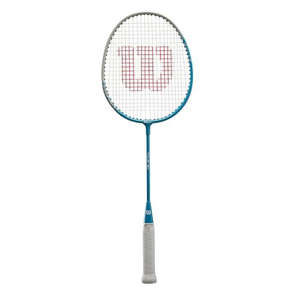 Wilson badmintonracket Tour 30 junior blauw-wit
