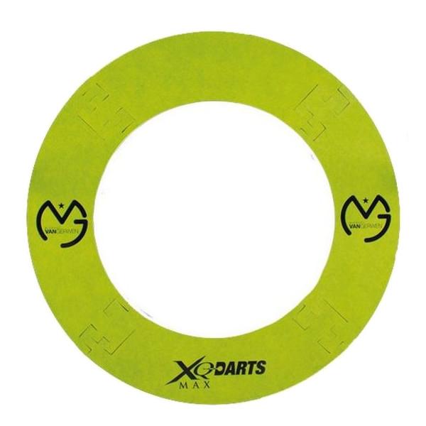 XQ Max dartbordring Michael van Gerwen 13,5 cm groen