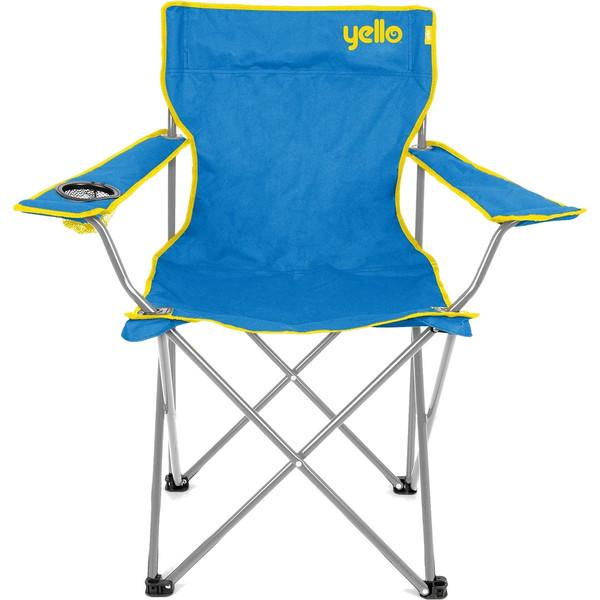 Yello campingstoel 48 x 81 x 85 cm unisex blauw