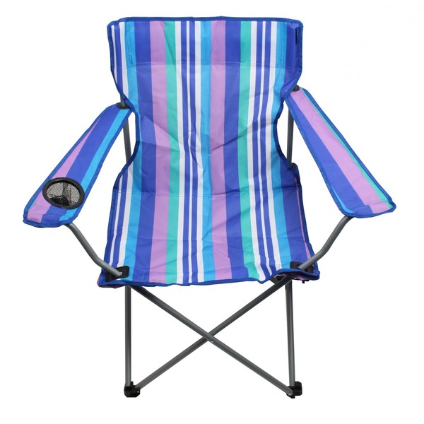 Yello Campingstoel Standard 85 x 81 x 48 cm blauw