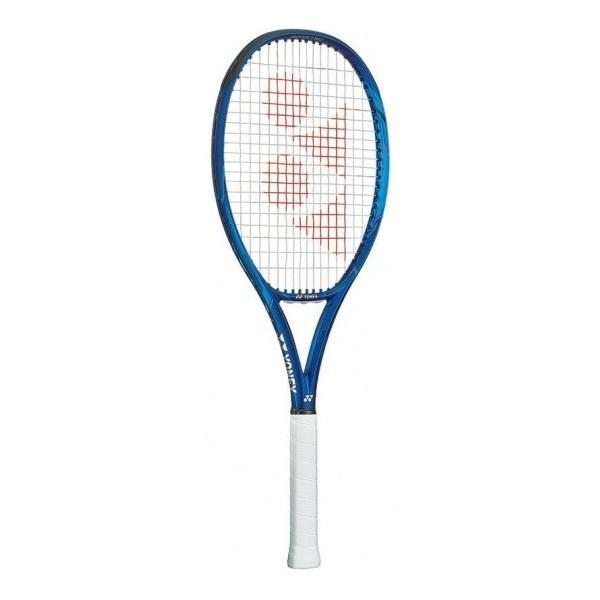 Yonex tennisracket Ezone 100L blauw gripmaat L0