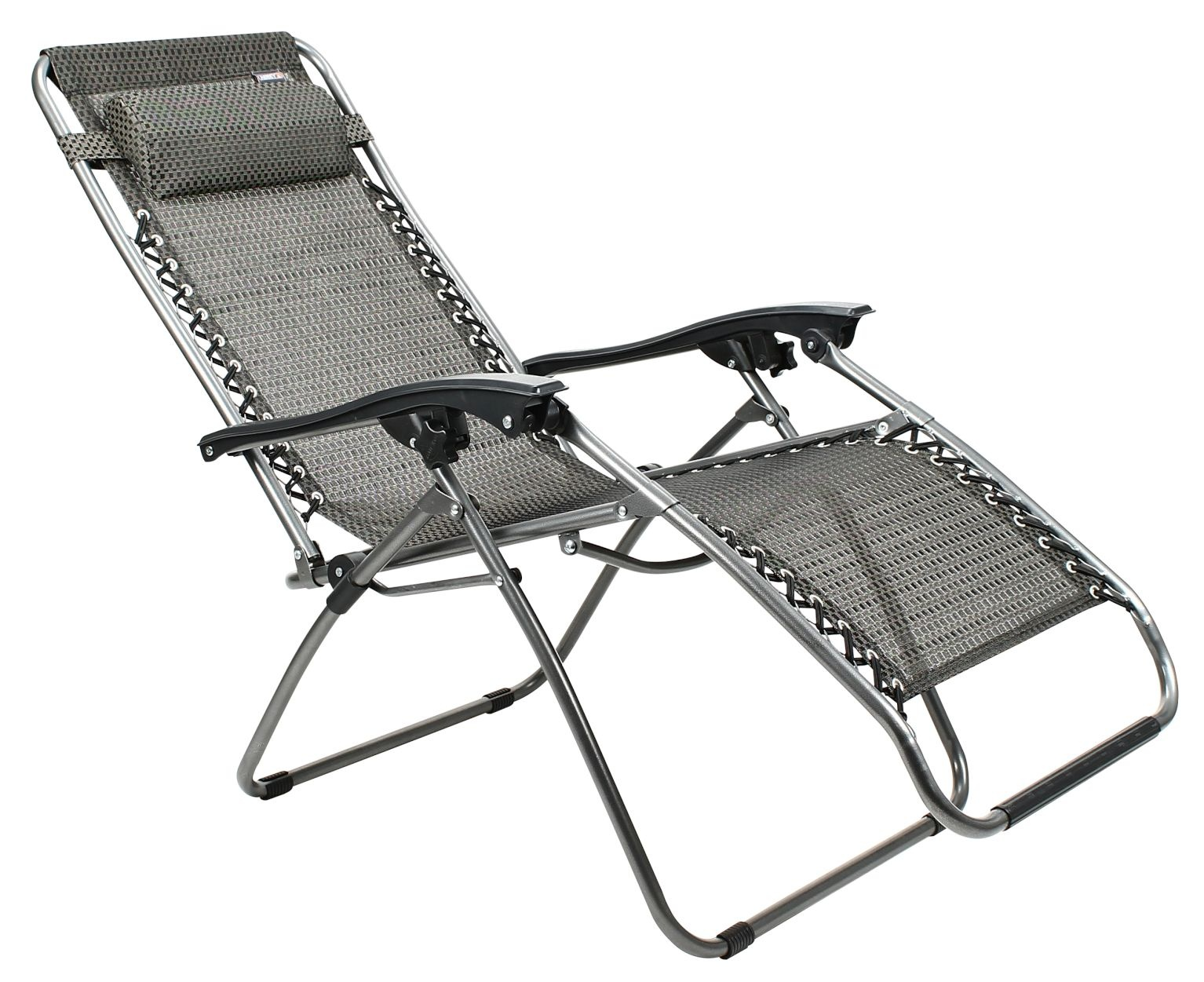 Abbey Camp Strandstoel.Abbey Chaise Lounge Ll Stoel Zwart Internet Sport Casuals