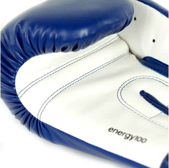 best loved bcc7a dcd4c adidas boxing gloves Energy 100 blue  white ...