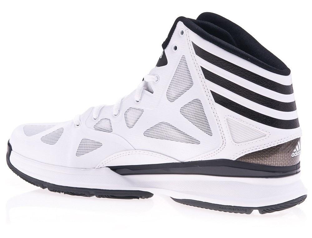 online store 3de88 deb3c adidas Crazy Shadow 2 Men Basketball Shoes White ...