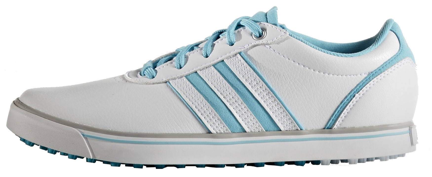 new arrivals 07f59 40e6f adidas golf shoes Adicross V Ladies White  Blue