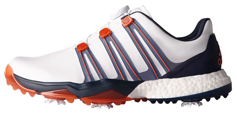 adidas golfschoenen Powerband BOA wit heren - Internet ...