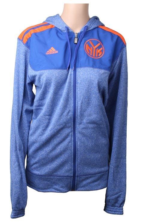 8afc9a69d64 adidas Vest Pregame F / S NBA New York Blue / Orange - Internet ...