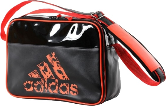034787db08e adidas shoulder bag black / orange 25 liters - Internet-Sport&Casuals
