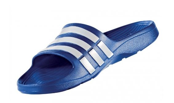 836195fa6d12 adidas slippers adidas Duramo Slide blue - Internet-Sport Casuals