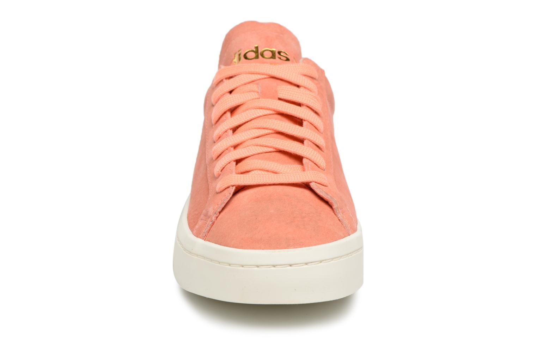 adidas sneakers dames oranje