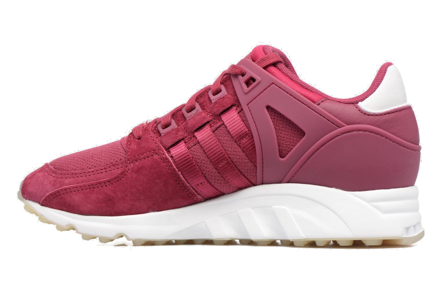 finest selection 49fe3 1181e ... adidas sneakers EQT Support RF ladies burgundy ...