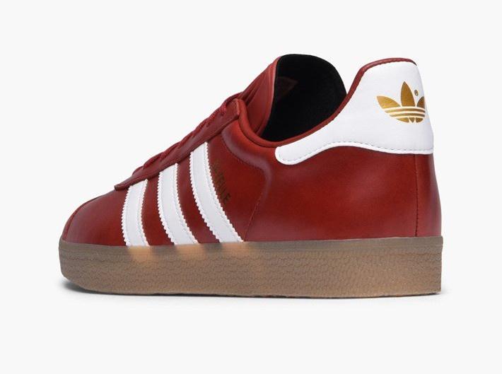 adidas gazelle dames rood