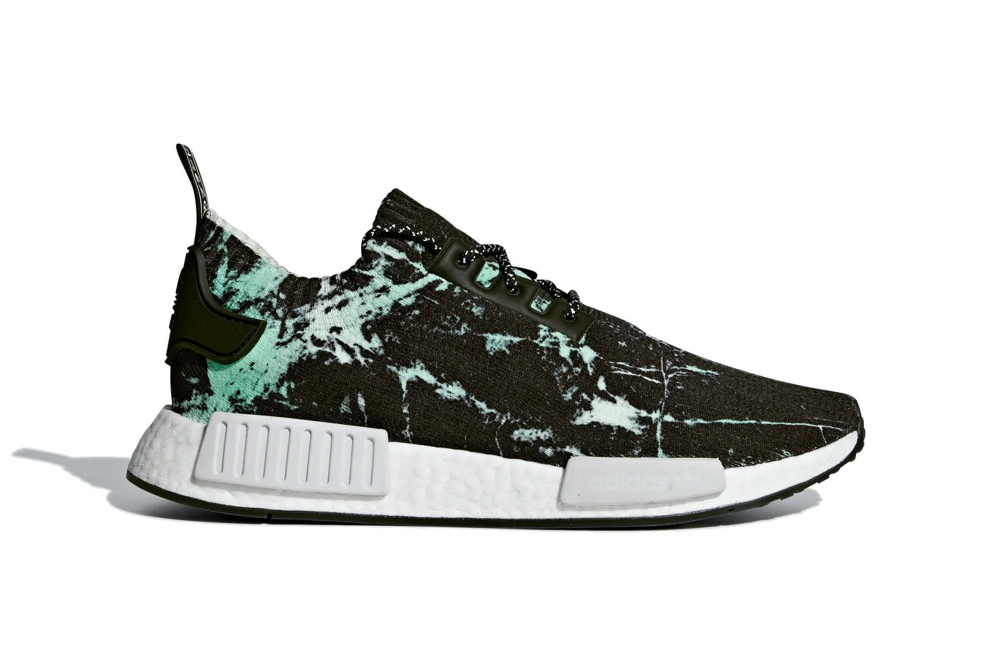 factory outlets new style attractive price adidas sneakers NMD R1 PK unisexe noir/vert taille 38 2/3 ...