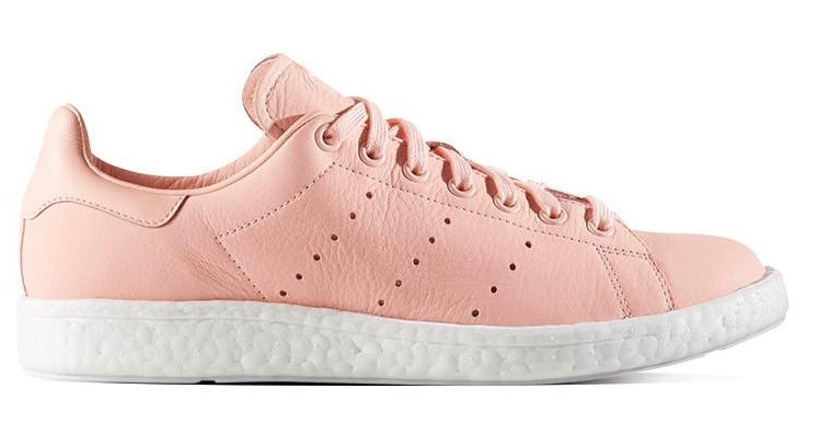 new arrival f789b 968b5 sneakers Stan Smith Boost salmon pink