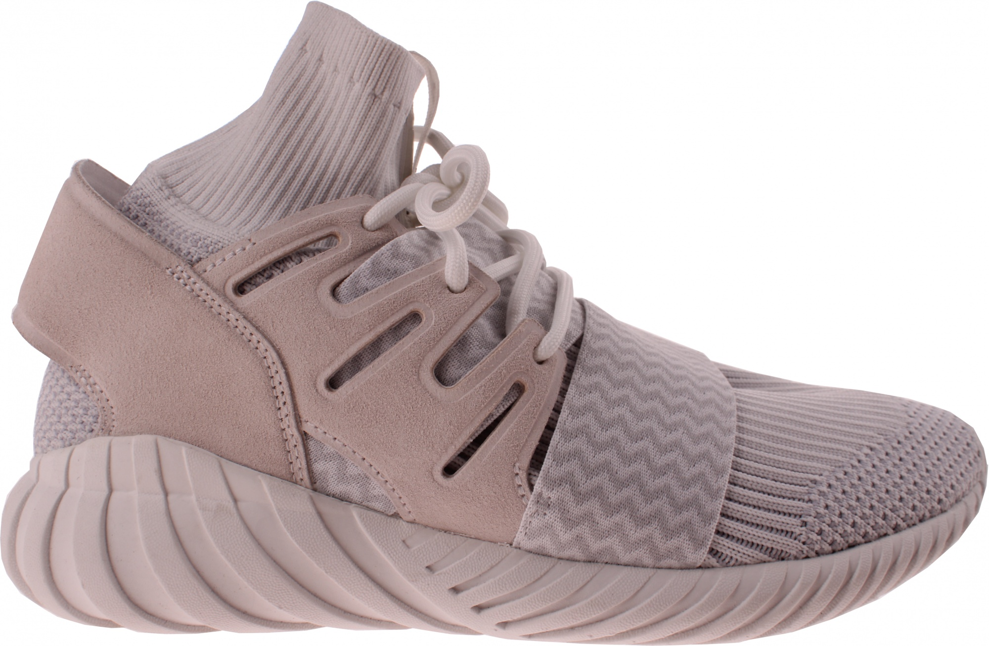 save off ecd76 43641 adidas sneakers Tubular Doom heren grijs. Vergroten