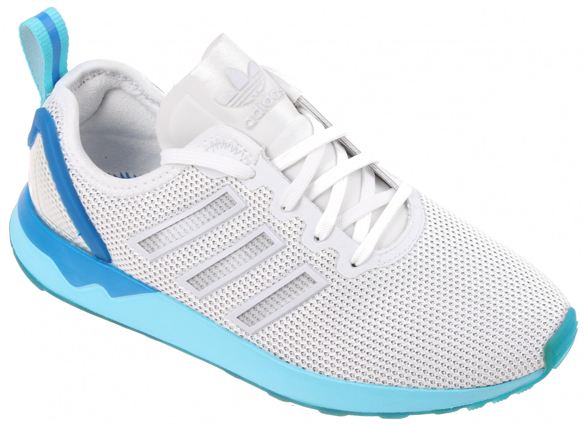 adidas zx flux heren wit