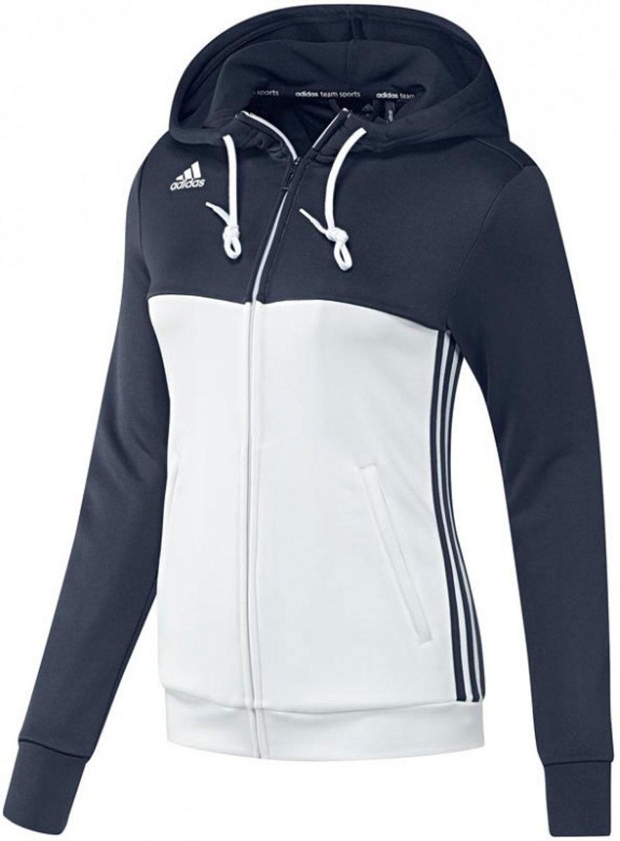 d32bb10ff6f adidas T16 vest dames blauw/wit - Internet-Sport&Casuals
