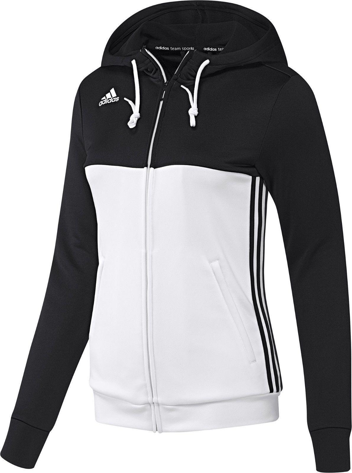 adidas vest dames zwart wit