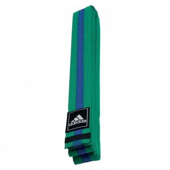 7432e720cdc adidas Taekwondoband Poomsae groen/blauwe streep - Internet ...