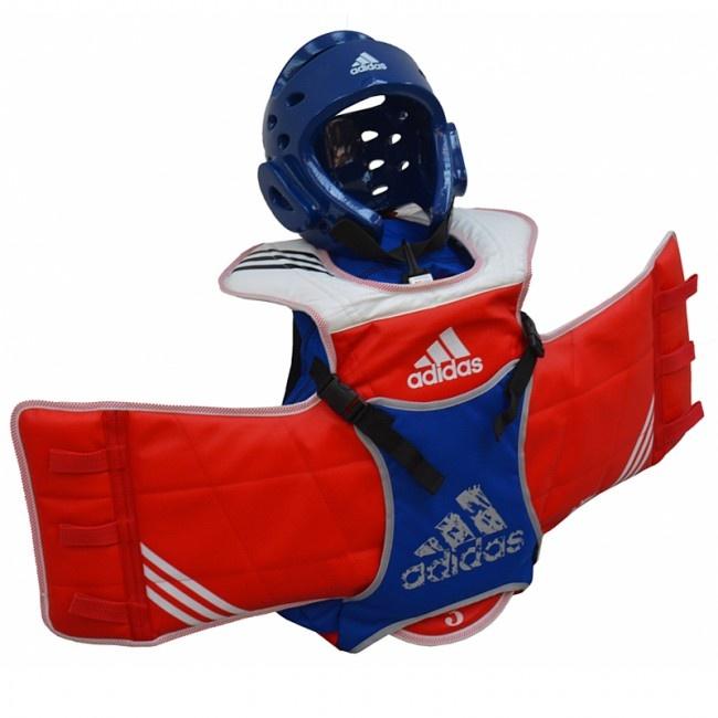 4f7385a2ec66 adidas Taekwondo unisex blue   red backpack 18 liters - Internet ...
