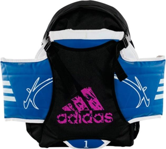 9e2d376956bd adidas Taekwondo backpack unisex black   pink 18 liters - Internet ...