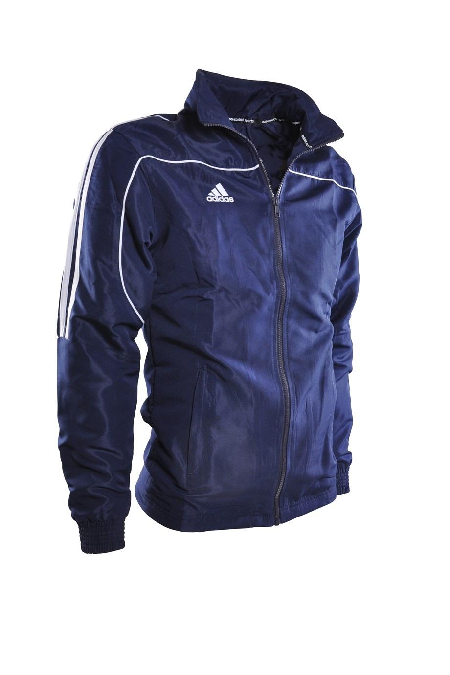 7b72d101f31 adidas trainingsjack Team Track blauw - Internet-Sport&Casuals