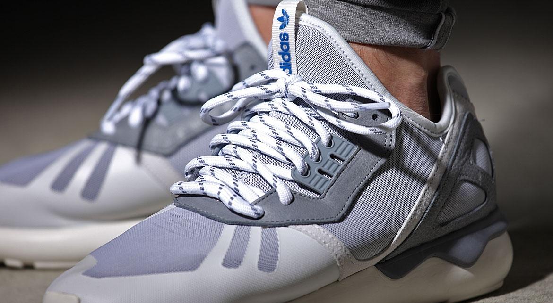 adidas sneakers Tubular Runner heren grijs Internet