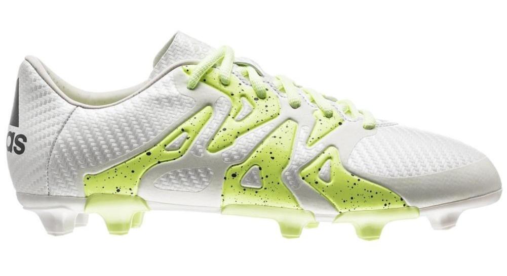 half off 6f37f fbc32 adidas football shoes X 15.3 FG AG ladies white yellow