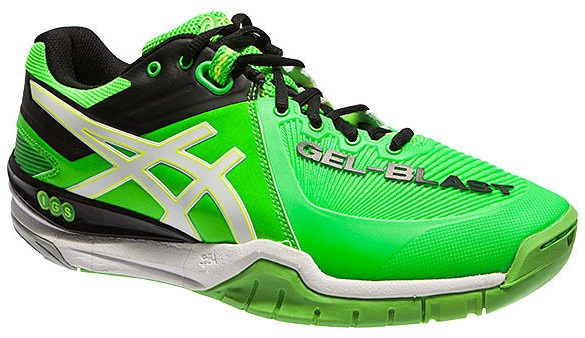 Handball Internet Asics Blast 6 Gel amp;casuals Shoes Green Sport Men's HwxPP1q6d